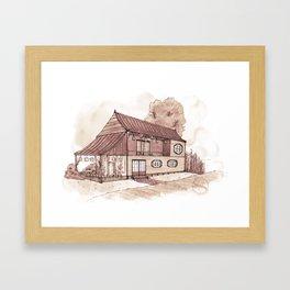 Renmin Road 12 Framed Art Print