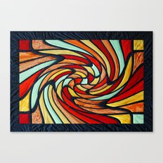 chromatic swirl Canvas Print