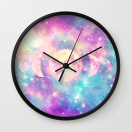 Tales Of The Moon Wall Clock