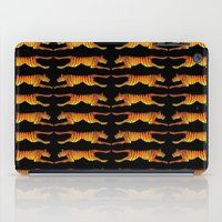 tigers iPad Cases featuring Leaping Tigers by John A. Conroy (COOOL CATS)