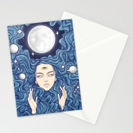 Trippy Chicks Stationery Cards