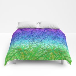 Grunge Art Abstract G57 Comforters