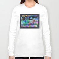 periodic table Long Sleeve T-shirts featuring periodic table of elements by Bekim ART