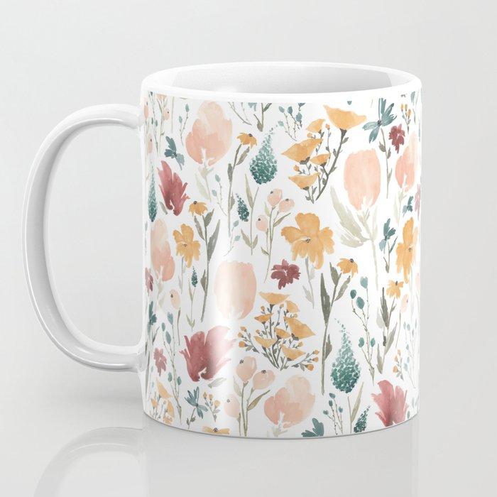 Deep Florals Coffee Mug