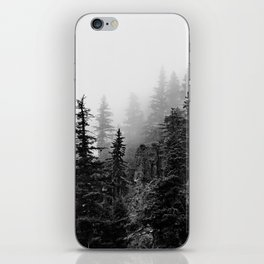 Foggy Trees iPhone Skin