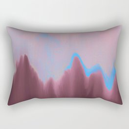 Mountain Heart Rectangular Pillow