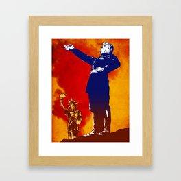 IL DOUCHE TRUMPOLINI Framed Art Print