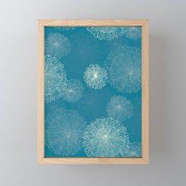 Spider Chrysanthemums Framed Mini Art Print