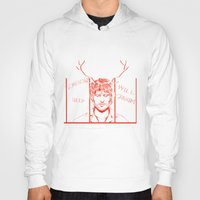 will graham Hoodies featuring Save Will Graham by Meloniade