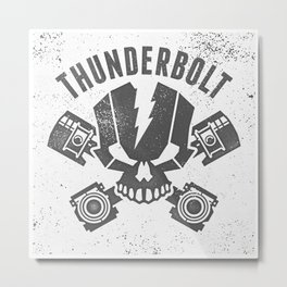 thunderboltV3 Metal Print