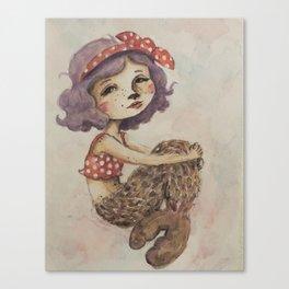 Summer Selkie Canvas Print