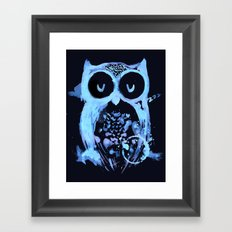 Too Early Bird Framed Art Print