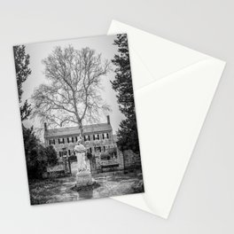 Chatham Manor Black and White Stationery Cards
