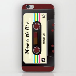 Made in the 80's iPhone Skin