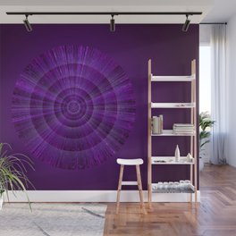 Magical Mystery Purple Shimmering Object Wall Mural