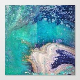 Glass Spill Canvas Print
