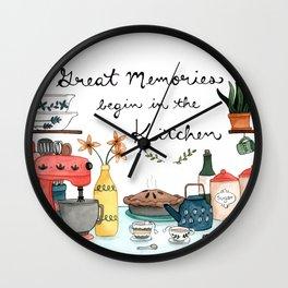 Great Memories Wall Clock