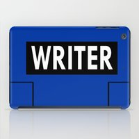 writer iPad Cases featuring Castle | Writer Vest v1.0 by Sandi Panda