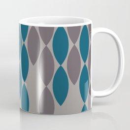 Streamers in Ash and Blue Coffee Mug