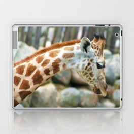 Sad Giraffe Laptop & iPad Skin