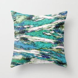 Falling through difficult layers 2 Throw Pillow