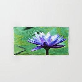 Purple Water Lily Hand & Bath Towel
