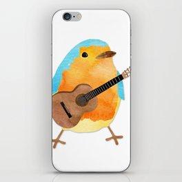 music bird iPhone Skin