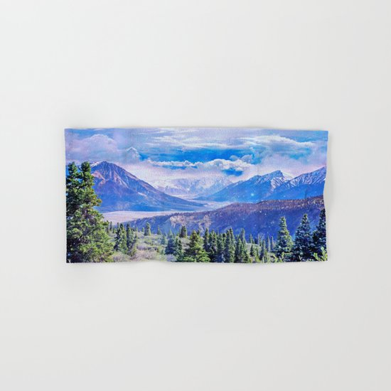 Neverland mountains Hand & Bath Towel