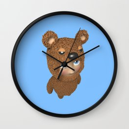 Furry baby Wall Clock