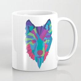Neon Wolf Coffee Mug