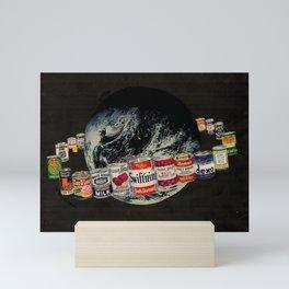 Globe Robe Mini Art Print
