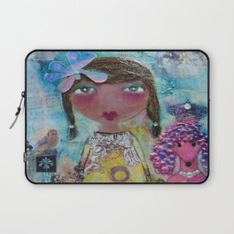 Phoebe & Poof - Whimsies of Light Children Series Laptop Sleeve