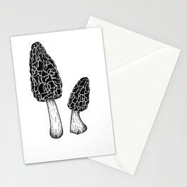 Morel Mushrooms Stationery Cards