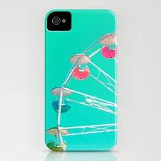 Minty Ferris Wheel of Happiness Slim Case iPhone (4, 4s)