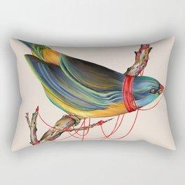 The Birdcage Rectangular Pillow