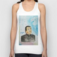 crowley Tank Tops featuring supernatural crowley by meldemirci