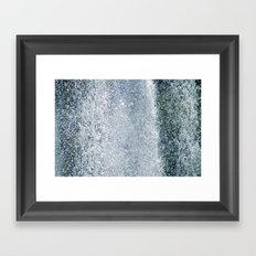 Dancing Water IV Framed Art Print