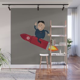 The Nuclear Rider Wall Mural
