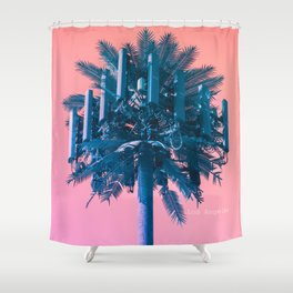 Tower #02 Shower Curtain