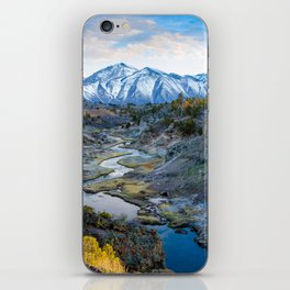 Eastern Sierra Nevada Journey, Hot Creek iPhone Skin
