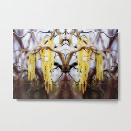 Blooming Horns Metal Print