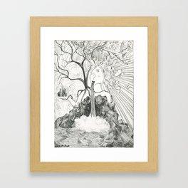 City vs Nature Framed Art Print