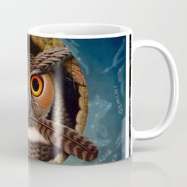 Wise Old Bird. Coffee Mug