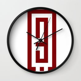 حب Love Wall Clock