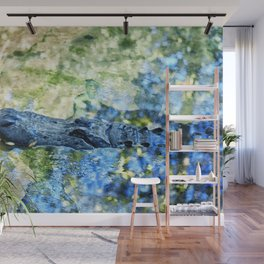 Monet Alligator Wall Mural