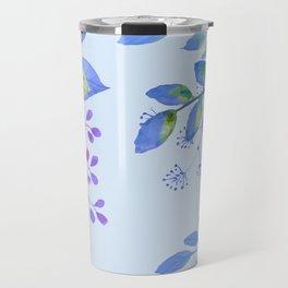 Holiday Floral Travel Mug