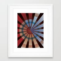 patriotic Framed Art Prints featuring Patriotic by Chris Cooch