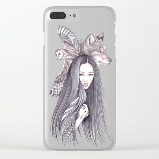 Arrow Clear iPhone Case