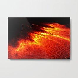 Pele's Glow Metal Print