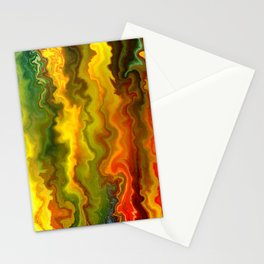 Colorful Thoughts by rafi talby Stationery Cards